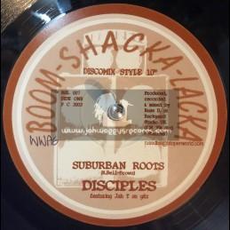 """Boom Shacka Lacka-10""""-Suburban Roots / Disciples + Blood Fyah / Disciples"""