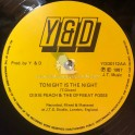 """Y & D-12""""-Tonight Is The Night / Dixie Peach & The Offbeat Posse  + Hold On To Your Man / Dixie Peach & The Offbeat Posse"""