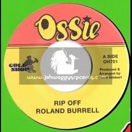 "OSSIE-GOLD SHOP-7""-RIP OFF / ROLAND BURRELL"