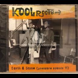 Pressure Sounds-CD-Kool Roots / Earth & Stone