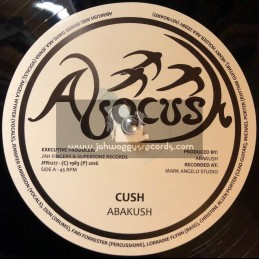 "Abacush-Jah Fingers-12""-Cush / Abakush + Physically / Abakusk"