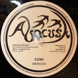 """Abacush-Jah Fingers-12""""-Cush / Abakush + Physically / Abakusk"""