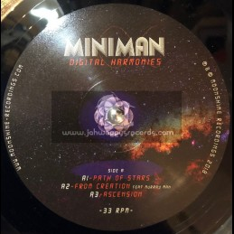 "Moonshine Recordings-Double 12""-Digital Harmonies / Miniman"