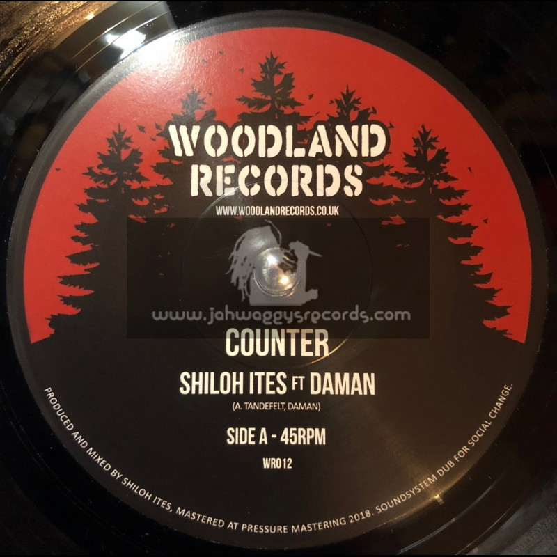 """Woodland Records-7""""-Counter / Shiloh Ites Feat. Daman"""