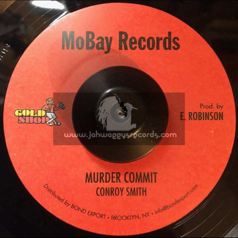 """MoBay Records-7""""-Murder Commit / Conroy Smith"""