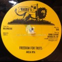 "Wackies-12""-Freedom for Trots / Moja Nya + Jah Guide / Moja Nya"