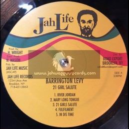 Jah Life-Lp-1 Girls Salute / Barrington Levy