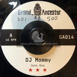 "Grand Ancestor-7""-DJ Mommy / Jane Bee + Dub Mommy / Bukkha"