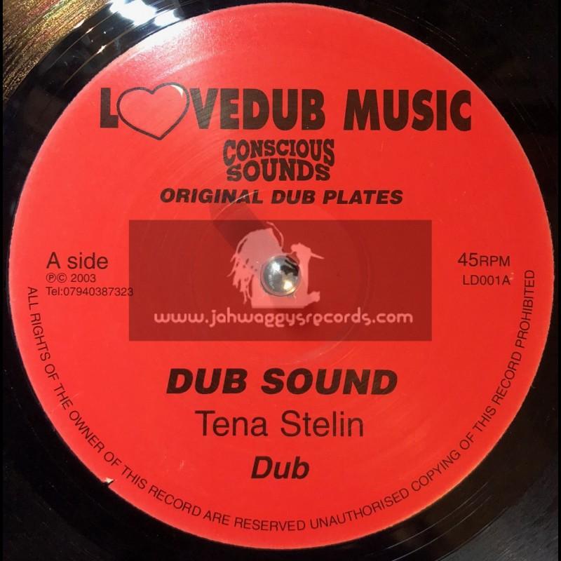 """Lovedub Music-10""""-Dub Sound / Tena Stelin + Stepping Time / Centry"""