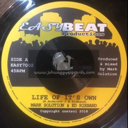 """Easy Beat Productions-7""""-Life Of Its Own / Mark Solution & Ed Rieband"""