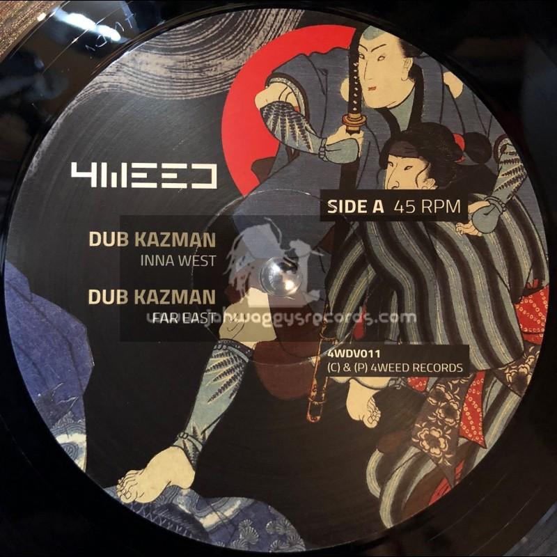 "4Weed Records-12""-Inna West / Dub Kasman + Stepper March / Infiammati Dub"