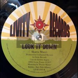 """Livity Records-10""""-Lock It Down / Skarra Mucci + Big Chat / D Nations"""