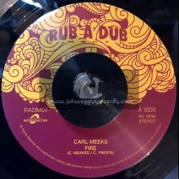 "Rub A Dub-7""-Fire / Carl Meeks"