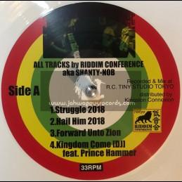 Tokyo Connexion-Lp-Riddim Conference aka Shanty-Nob