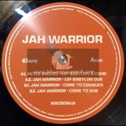 "Whodemsound-10""-Lef Babylon & Come / Peter Broggs + Come To Conquer / Jah Warrior"