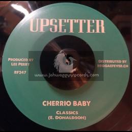 """Upsetter-7""""-Cherrio Baby / Classics + Cheerio / Upsetters"""