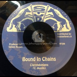 """Stud-7""""-Bound In Chains / Clarendonians + Chains Version / Stud All Stars"""