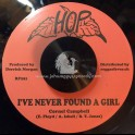 """Hop-7""""-I've Never Found A Girl (Ain't No Love) / Cornel Campbell + Colour Race / The Viceroys"""