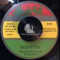 "Black Art-7""-Back Biting / Winston Heywood + Chastising Dub / Upsetters"