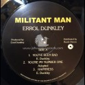 Only Roots Records-Lp-Militant Man / Errol Dunkley