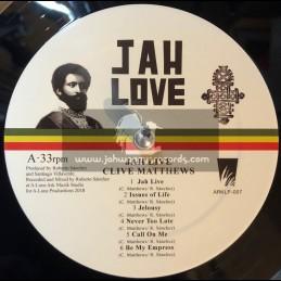 A Lone Productions-Lp-Jah Live / Clive Matthews