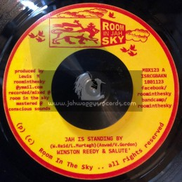 """Room In Jah Sky-7""""-Jah Is Standing By / Winston Reedy And Salute"""