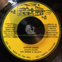 "Room In Jah Sky-7""-Warrior Charge / Vin Gordon And Salute"
