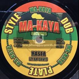 "Ma-Kaya Records-7""-Rasta / Izyah Davis"