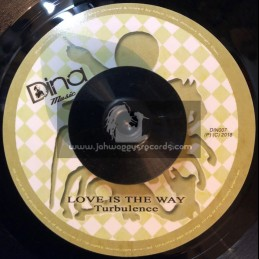 "Dina Music-7""-Love Is The Way / Turbulence + Men In Power / Peetah & Mojo - Aka Morgan Heritage"
