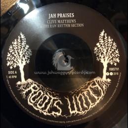 Roots Unity-7-Jah Praises / Clive Matthews + Raw Dub / The Raw Rhythm Section