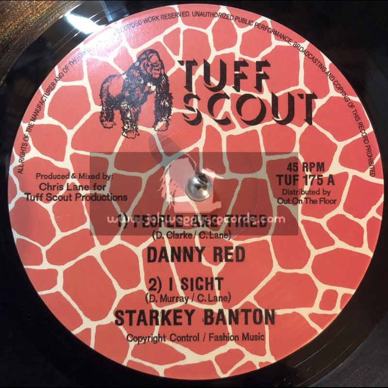 """Tuff Scout-10""""-People Are Tired / Danny Red + I Sight / Starkey Banton"""