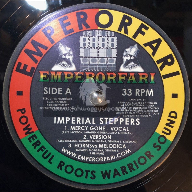 """Emperorfari-12""""-Mercy Gone / Imperial Steppers"""