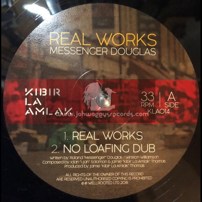 "Kibir La Amlak-Double-12""-Real Works / Messenger Douglas"