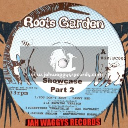 ROOTS GARDEN SHOWCASE PT2-EP-DANNY RED/RAS ZACHARRI/FREDDIE McGREGOR/EARL 16