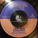 """Messenjah Music Records-7""""-Jah Jah Calling / Errol Bellot"""