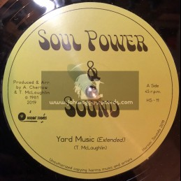 "Honin Sounds-12""-Yard Music / Soul Power & Sound + Trample Romans / Soul Power & Sound"
