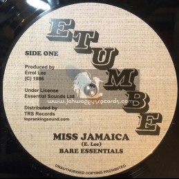 "Etumbe-TRS Records12""-Miss Jamaica / Bare Essentials + Different Size / Bare Essentials"