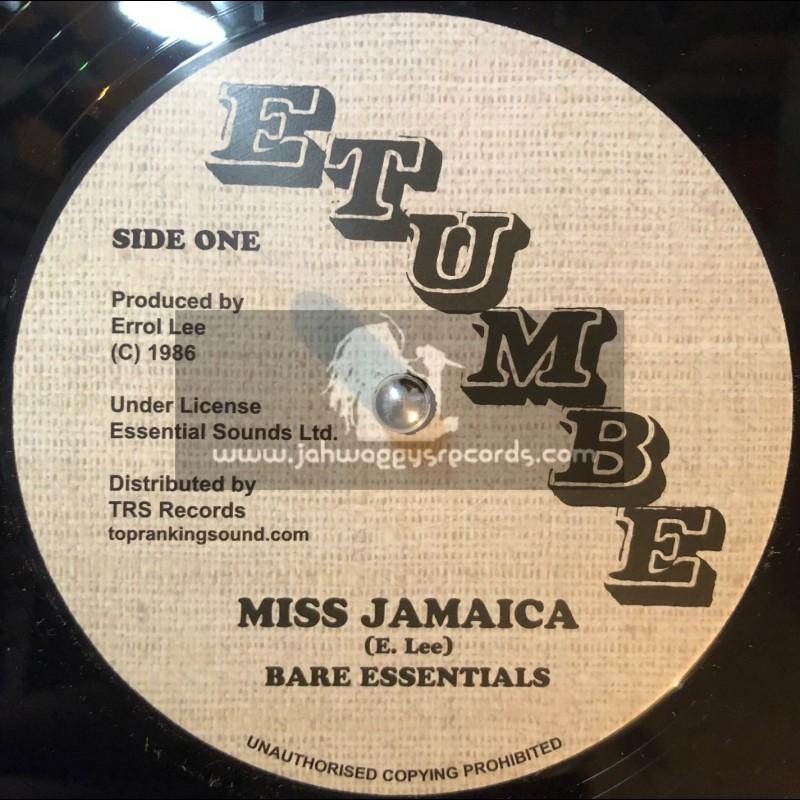 "Etumbe-TRS Records12""-Miss Jamaica / Bare Essentials + Different Size / Bare Essentials"