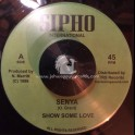 "Sipho International-TRS Records-7""-Show Some Love / Senya"