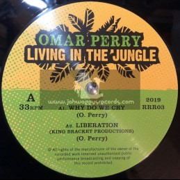 """Roots Renegade Records-Double-12""""-Living In The Jungle / Omar Perry"""