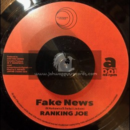 "Echoyard Sounds-7""-Fake News / Ranking Joe + Dub News / Jamtone"