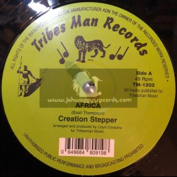 "Tribes Man Records-12""-Africa / Creation Stepper"