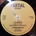 """Partial Records-10""""-No Barriers / Dub The Earth Feat. Steve Swan + Travelling On / Dub Earth Feat. Emma"""