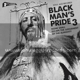 Soul Jazz Records-Double-Lp-Studio One Black Man's Pride 3 : None Shall Escape The Judgement Of The Almighty