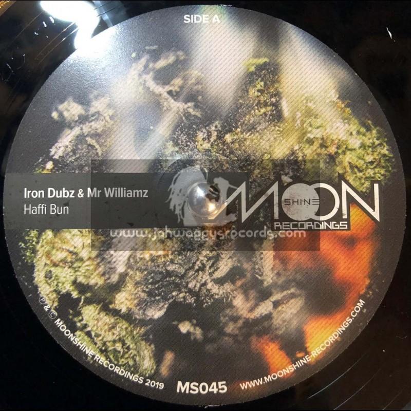 """Moonshine Recordings-7""""-Haffi Bun / Iron Dubz & Mr Williamz"""