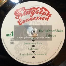 Kingston Connexion-Lp-The Light Of Saba / Sabebe