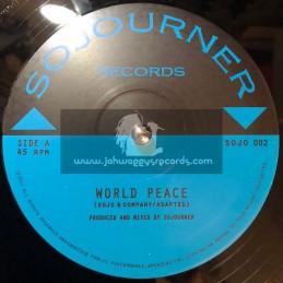"Sojourner Records-12""-World Peace / Sojo & Company"