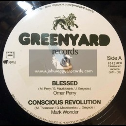 "Greenyard Records-12""-Blessed / Omar Perry + Conscious Revolution / Mark Wonder"
