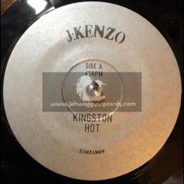 """ZamZam-7""""-Kingston Hot  / J Kenzo + Concrete Jungle / J Kenzo"""