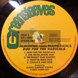 Greensleeves Records-Lp-Dub For The Radicals / Alborosie meets Roots Radics